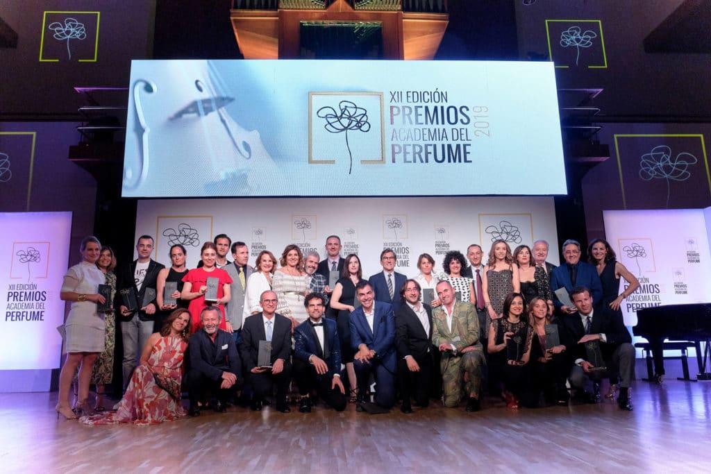 Fotografías Premiados Jurado Academia del Perfume